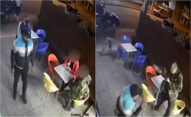 Uruguay Cop Shoots At Thieves Video Goes Viral - Sakshi