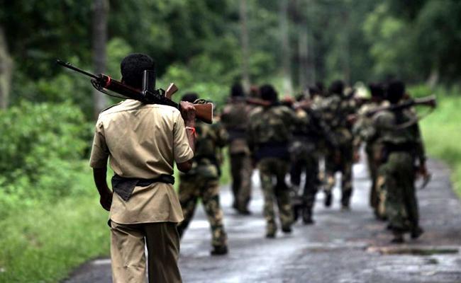 Firing Between Maoist And Police In Chhattisgarh - Sakshi