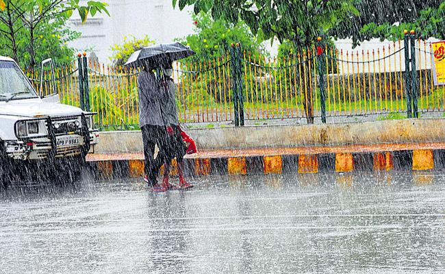 Moderate Rains In AP For Next Two Days - Sakshi