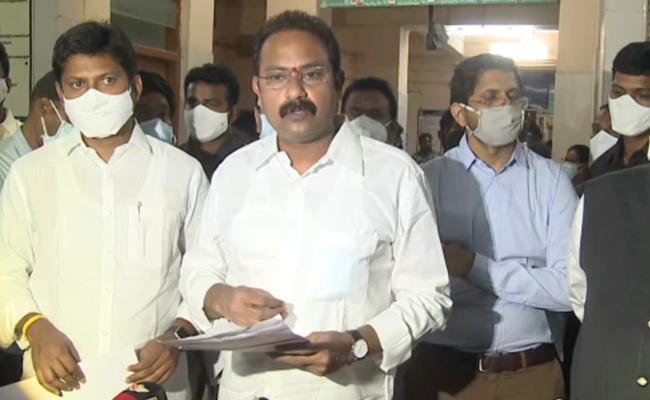 Minister Alla Nani Review On Eluru Incident - Sakshi