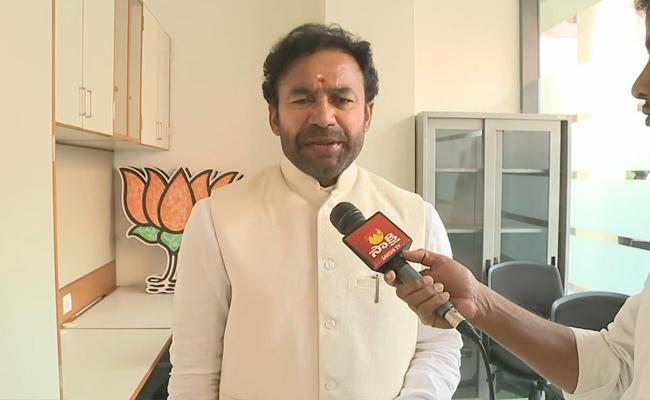 Kishan Reddy Says Central Team Will Be Coming To Eluru - Sakshi