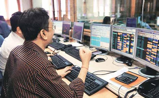 Market up with GDP recovery, vaccine expectations - Sakshi