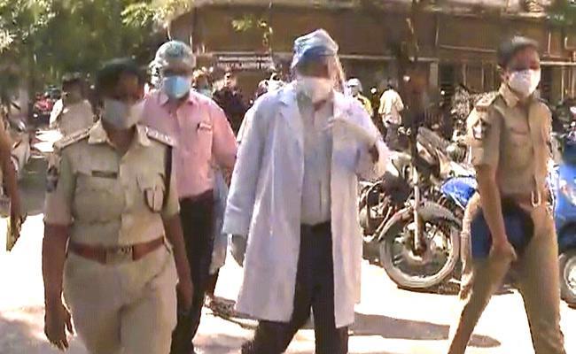 Police Inquire Health Condition Of Priyanka Injured In Attack - Sakshi