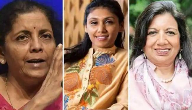 Nirmala Sitharaman Names Forbes Worlds 100 Powerful Woman - Sakshi