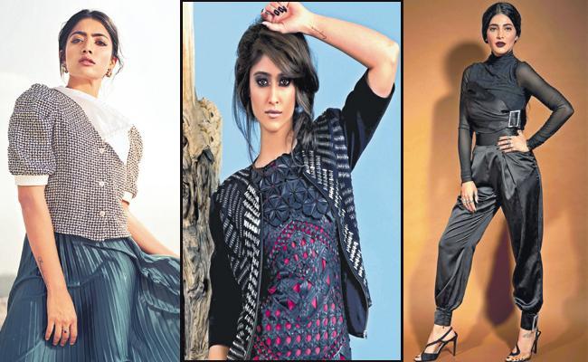 Rashmika Mandanna And Ileana And Shruti Haasan About New Year - Sakshi