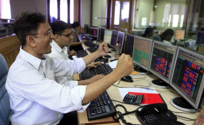 New year day Market ends with record highs - Sakshi