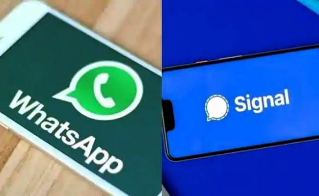 How different is Signal from WhatsApp - Sakshi