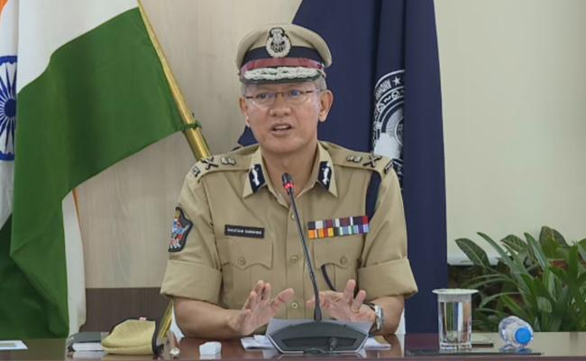 DGP Gowtham Sawang Comments On Alleged Temple Demolition In AP - Sakshi