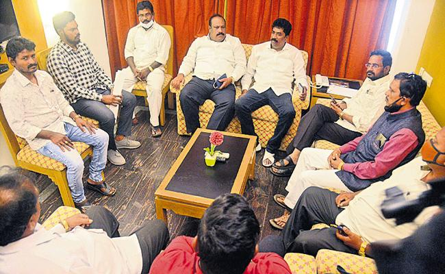 Mass resignations of TDP Christian Cell Leaders - Sakshi