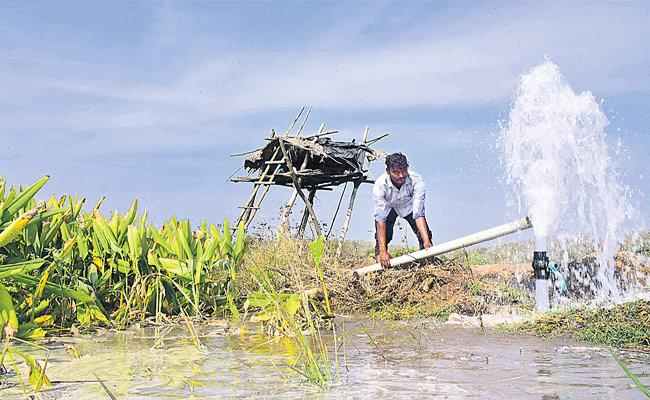No Borehole For farming In Borgaon Village Nirmal District - Sakshi