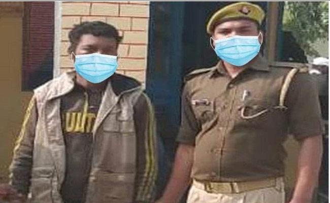 Gorakhpur Police Trolled For Using Morphed Image Of Wearing Mask - Sakshi