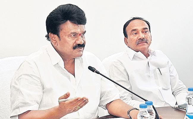 Talasani Srinivas Yadav Says No Bird Flu In Telangana - Sakshi