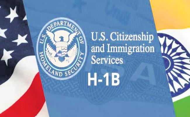 Donald Trump has set the wheels in motion to scrap the H-1B lottery - Sakshi