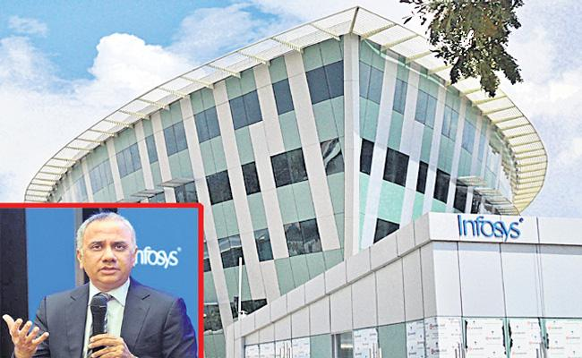 Infosys Q3 profit rises 17 per cent YoY to Rs 5,197 cr - Sakshi