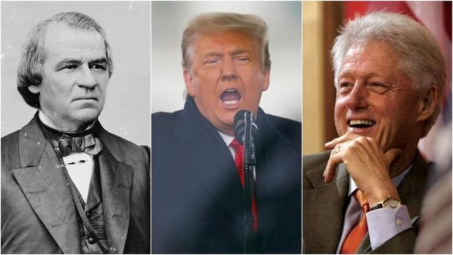 Donald Trump Becomes 4TH US President Impeached From Office - Sakshi
