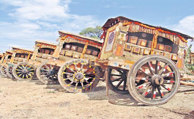 Deccan Development Society Old Rice Species Exhibition For Sankranthi Festival - Sakshi