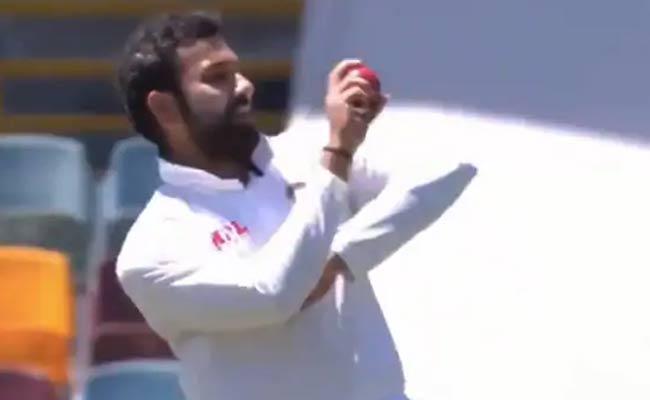 Rohit Sharma Bowls Medium Pace After Navdeep Saini Leaves - Sakshi