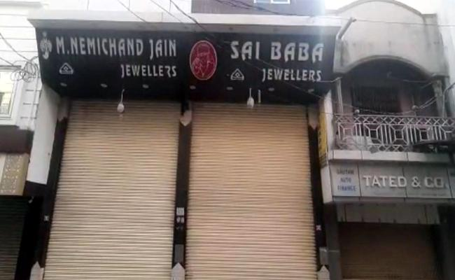 Massive Theft In Jewelry Store At Secunderabad - Sakshi