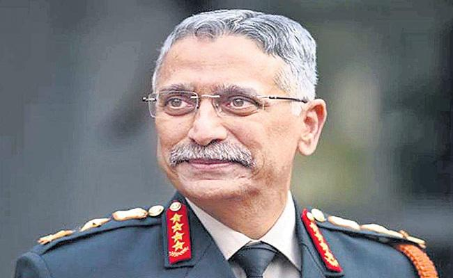 Army Chief MM Naravane Warning To China On Army Day - Sakshi