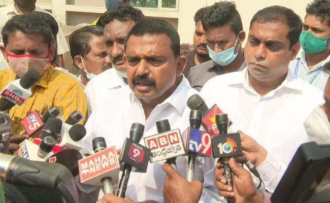 Perni Nani Talks In Press Meet Over Vaccination In Vijayawada - Sakshi