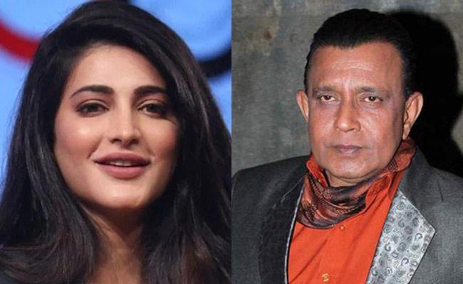 Mithun Chakraborty And Shruti Haasan To Make a Web Series - Sakshi