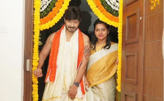 Bigg Boss Winner Kaushal Manda House Warming - Sakshi