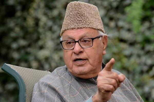 Farooq Abdullah explain his life in Lockdown - Sakshi