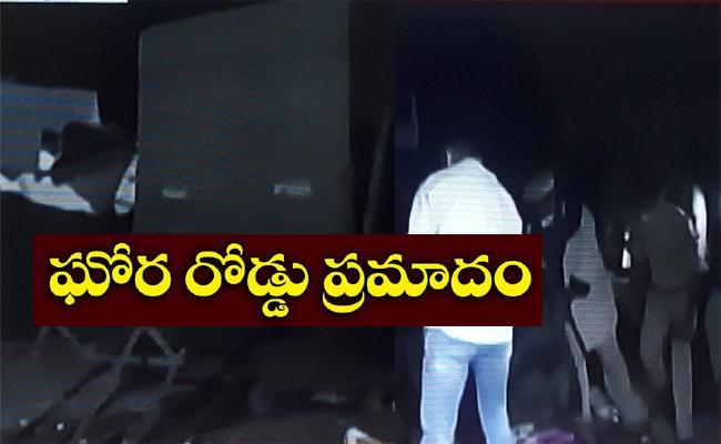 Road Accident In Gujarat - Sakshi