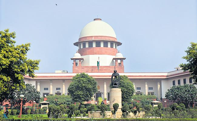 Delhi Police to decide on farmers entry into capital Says Supreme court - Sakshi