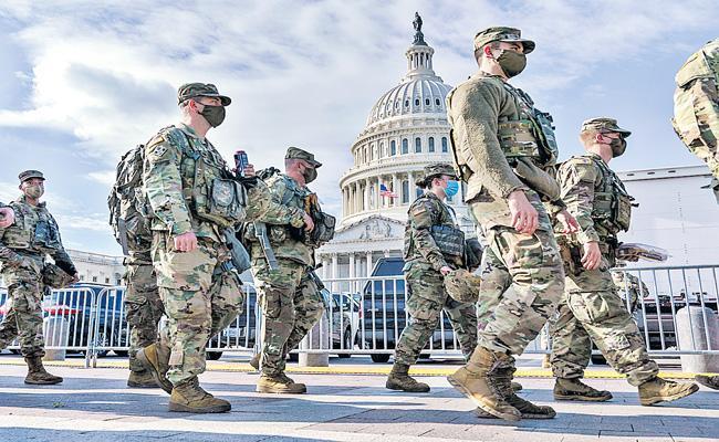 Washington on high alert ahead of Joe Biden inauguration - Sakshi