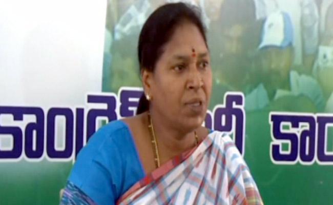 YSRCP Candidate Pothula Sunitha Unanimously Elected As MLC - Sakshi