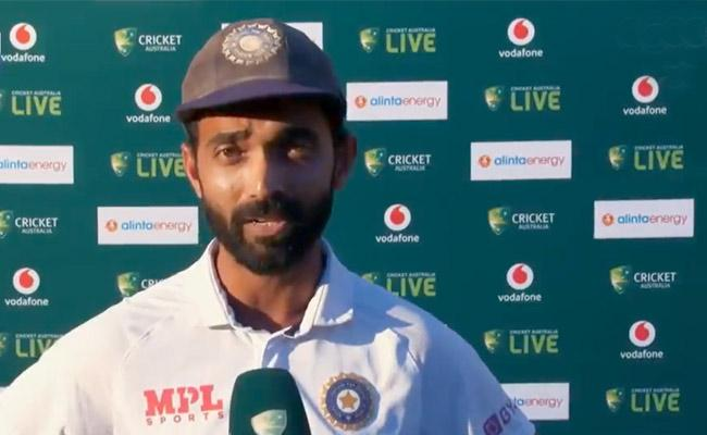 Ajinkya Rahane Ravi Shastri Gets Emotional India Victory On Australia - Sakshi