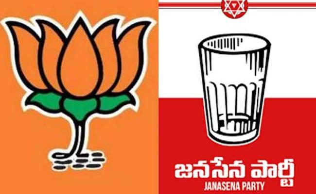 Janasena And BJP Seeks To Filed Candidate In Tirupati Bypoll - Sakshi