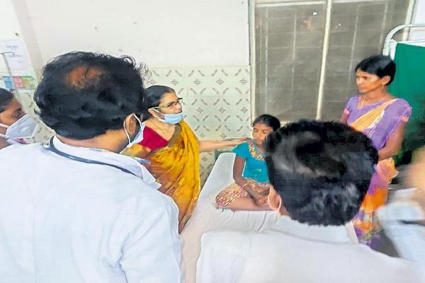 Symptoms Elusive Disease cases in Pulla village - Sakshi