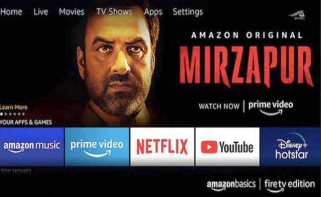 Amazon basics releases ultra HD smart tVs - Sakshi