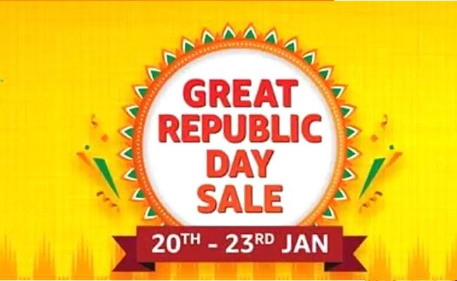 Amazon Great Republic Day Sale Kicks Off - Sakshi