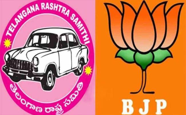 Words War Between TRS And BJP In Telangana - Sakshi