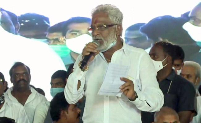 TTD Chairman Yv Subbareddy Praises Cm jagan For Land Distribution in nemam - Sakshi