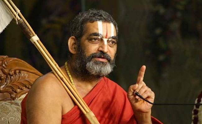 Tridandi Chinna Jeeyar Swamy Sensational Comments On Temple Attacks In Andhra Pradesh - Sakshi