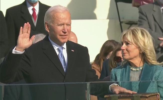Biden, Harris To Take Oath As US President, Vice-President - Sakshi