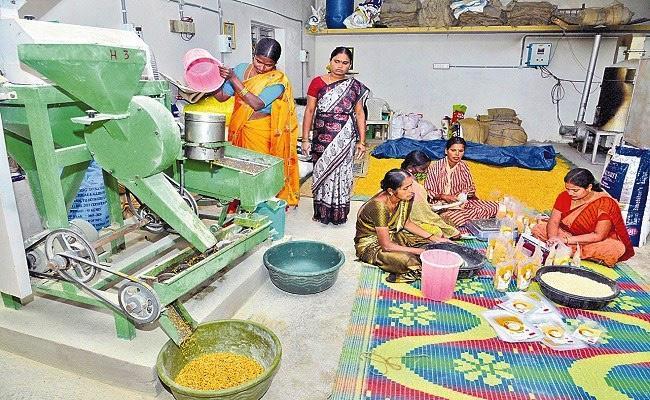 Siddipet Mittapally Dwcra Members Food Processing Business - Sakshi