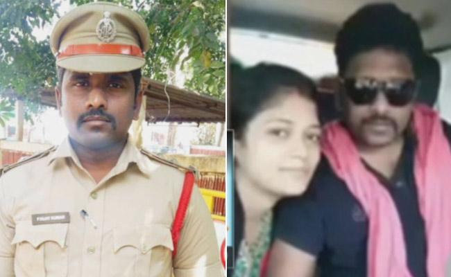 Gudivada SI Sucide: Beautician Sent To Remand - Sakshi