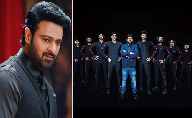 Prabhas Adipurush Movie Team Talk In Motion Capture Shoot - Sakshi