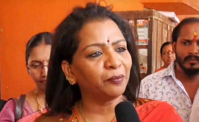 Shaikpet MRO Police Complaint On KK Daughter Vijayalakshmi - Sakshi