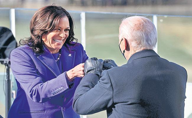 Joe Biden's message of democracy for detractors - Sakshi