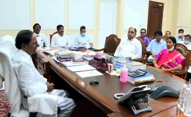 CM KCR Review On Progress Of Sitarama Project Works - Sakshi