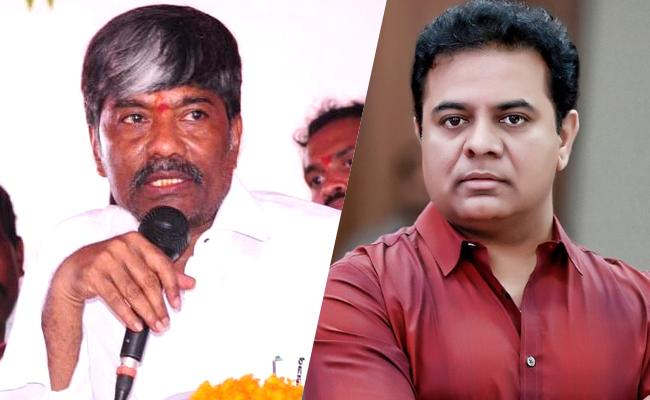 Padma Rao Interesting Comments On KTR Over CM Post - Sakshi