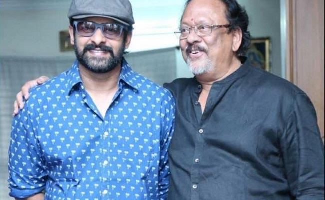 Rebal Star Krishnam Raju Comments On Hero Prabhas Marriage - Sakshi