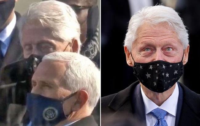 Bill Clinton Actually Nodded Off During Biden Inauguration - Sakshi