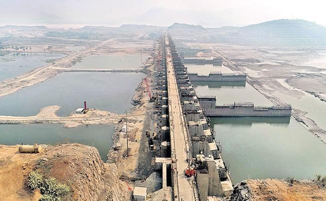 AP Government Speed Up Polavaram Project Works 2022 Kharif Season - Sakshi